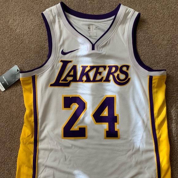 low priced 738ce 69644 Nike LA Lakers Kobe Bryant Icon Swingman Jersey NWT